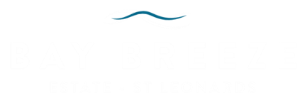 Bay Breeze Estate Logo with a transparent background